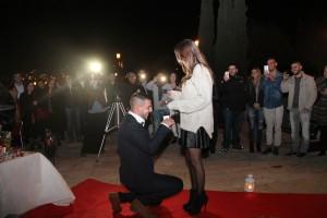 הצעת נישואין בכותל המערבי